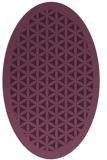 rug #781938 | oval borders rug