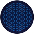 rug #782108   round borders rug