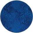 rug #782128 | round blue animal rug