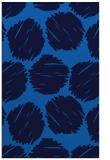 rug #782149 |  blue circles rug