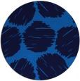rug #782153 | round blue retro rug