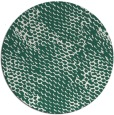 rug #782623 | round green popular rug