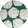 rug #782648 | round green circles rug