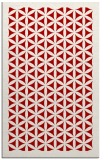 rug #782764 |  red traditional rug