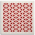 rug #782776 | square red traditional rug