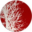 rug #782833 | round red natural rug
