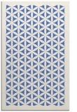 rug #782929 |  blue geometry rug