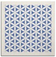 rug #782941 | square blue borders rug