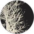 rug #783163 | round black natural rug