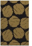 rug #783799 |  mid-brown circles rug