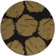 rug #783803   round black circles rug