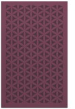 rug #783919 |  purple traditional rug