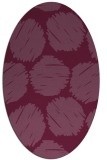 rug #783962 | oval circles rug