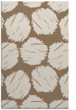 rug #784294 |  beige circles rug
