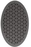 rug #784412 | oval traditional rug