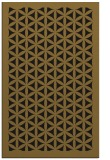 rug #784579 |  mid-brown borders rug