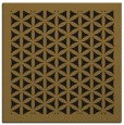 rug #784591 | square mid-brown traditional rug