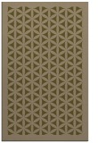 rug #784744 |  mid-brown borders rug