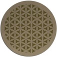rug #784748   round brown borders rug