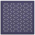 rug #784921 | square blue-violet traditional rug