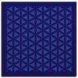 rug #785251 | square blue-violet borders rug