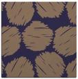 rug #785461   square blue-violet circles rug