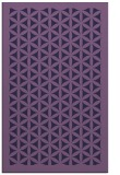 rug #787129 |  blue-violet traditional rug