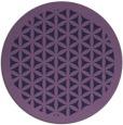 rug #787133 | round purple traditional rug