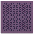 rug #787141 | square purple traditional rug