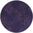 rug #787153 | round purple animal rug