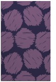 rug #787174 |  purple circles rug