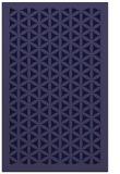 rug #788999    blue-violet borders rug