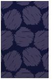 rug #789044    blue-violet circles rug