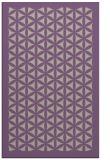 rug #790369 |  purple borders rug