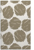 rug #791099 |  beige circles rug