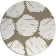 rug #797318   round white circles rug