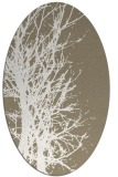 rug #797330 | oval white natural rug