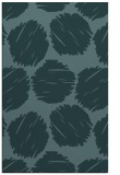 rug #799039 |  blue-green graphic rug