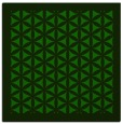 rug #799691 | square green traditional rug