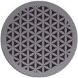 rug #801053 | round purple traditional rug