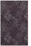 rug #801069 |  purple animal rug