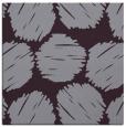 rug #801106 | square purple circles rug