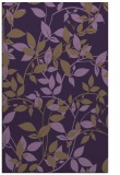 rug #801674 |  purple natural rug