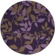 rug #801678 | round purple natural rug
