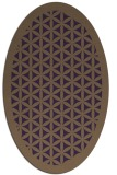 rug #801730 | oval borders rug