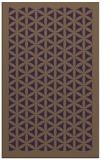 rug #801734 |  mid-brown borders rug
