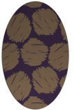 rug #801775 | oval graphic rug