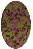 rug #802356 | oval natural rug