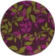 rug #802363 | round purple natural rug