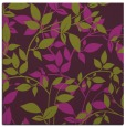 rug #802371 | square purple natural rug